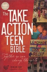 The NKJV Take Action Bible, Teen Edition--softcover
