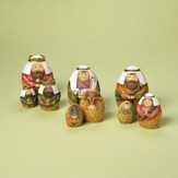 Nesting Nativity set 9 Pieces