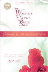 NKJV The Woman's Study Bible, Hardcover, Repackaged - Slightly Imperfect