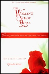 NKJV The Woman's Study Bible, Personal Size, Hardcover - Slightly Imperfect
