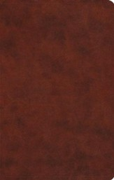ESV Large Print Value Thinline Bible (TruTone, Chestnut), Leather, imitation, Brown