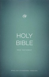 ESV Outreach New Testament, Softcover, Green