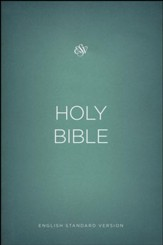ESV Outreach Bible, Softcover, Green