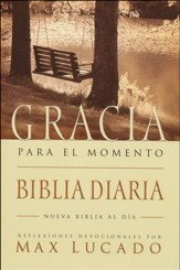 Biblia Gracia para el Momento NBD, Enc. Rústica  (NBD Grace for the Moment Bible, Softcover) - Slightly Imperfect