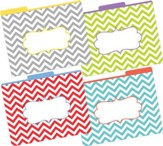 Chevrons Beautiful File Folders (Pack of 12)