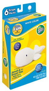 Model Magic Single Pack White, Jonah and the Great Fish