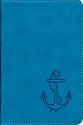 ESV Compact Bible, TruTone, Ocean Anchor, Blue