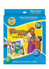 Beginners Bible Stories of Jesus, Color Wonder