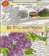 Be Still and Know - Travel Size Coloring Book