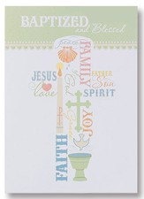 Baptized and Blessed Cards, Pack of 6