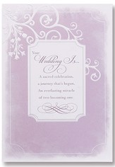 Wedding Cards, Pack of 6