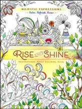 Rise and Shine: Inspirational Adult Coloring Book  - Slightly Imperfect