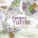 Expressions of Gratitude - Adult Coloring Book
