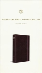 ESV Journaling Bible, Writer's Edition, Black
