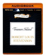 Treasure Island - unabridged audiobook on MP3-CD