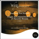 Organ Accompaniment for 25 Favorite Hymns CD