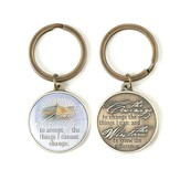 Serenity Prayer Keyring