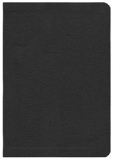 ESV Study Bible, CBD Exclusive Edition; Black Genuine  Leather with Thumb Index