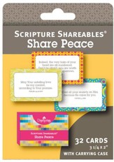 Peace, Shareables Scripture Cards, Package of 32