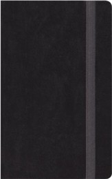 ESV Thinline Bible, Black Hardcover with Strap