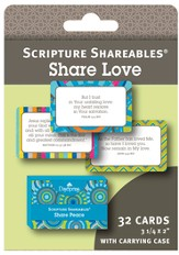 Love, Shareables Scripture Cards, Package of 32