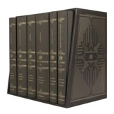 ESV Reader's Bible, Six-Volume Set (Dark Brown Cloth over Board)