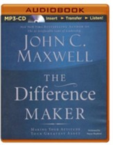 The Difference Maker, MP3-CD