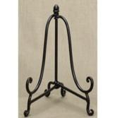 Metal Plate Easel, Mahogany, 12.75  Inches