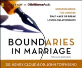 Boundaries in Marriage - unabridged audiobook on CD
