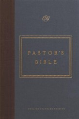 ESV Pastor's Bible (Cloth over Board)
