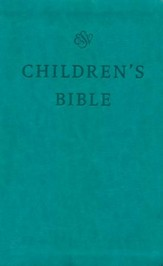 ESV Children's Bible (TruTone, Teal)  Imitation Leather