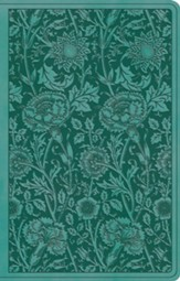 ESV Premium Gift Bible (TruTone, Teal, Floral Design) Imitation Leather