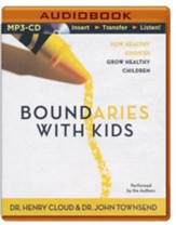 Boundaries with Kids, Abridged MP3-CD