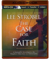 The Case for Faith, MP3-CD