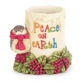 Peace on Earth Tealight Holder