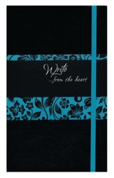 Write Journal - Imitation Leather, Onyx