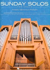 Sunday Solos for Organ