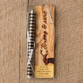 Strong & Sure Pen & Bookmark