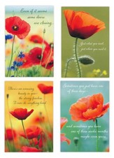 Poppies/Difficult Times, Strength/Cards, Box of 12