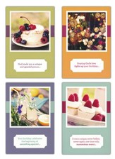 Birthday Snapshots Cards, Box of 12