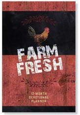 2019 Farm Fresh - 16-Month Weekly Planner