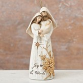 Holy Family Ivory & Gold Figurine, Small