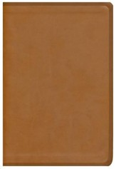 ESV Thinline Bible, Brown Natural Leather