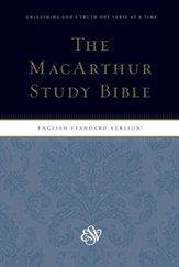 ESV MacArthur Study Bible, Personal Size Softcover