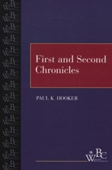 Westminster Bible Companion: First and Second Chronicles
