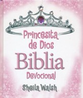 Princesita de Dios Biblia Devocional  (God's Little Princess Devotional Bible)