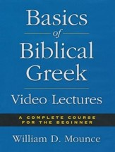 Basics of Biblical Greek - All 36 Video Lectures Bundle [Video Download]