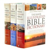 Baker Illustrated Bible Bundle - Dictionary, Handbook, & Commentary Set