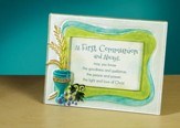 At First Communion and Always Tabletop Plaque