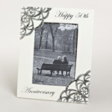 Happy 50th Anniversary Photo Frame